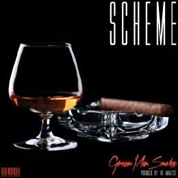 SCHEME aka NAVARRO - Grown Man Smoke (produced by The Analyst) Cover Art