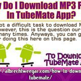 Shawn Green - How Do I Download MP3 Files In TubeMate App? Cover Art