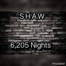 ShawTheGreat1 - 6,205 Nights Cover Art