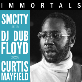 SmCity - Immortals: Curtis Mayfield Cover Art