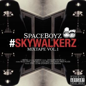 SpaceBoyz - #Skywalkerz Cover Art