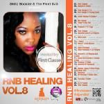 Super DJ Emiliot - RNB Healing Vol.8 hosted by First Classe Cover Art