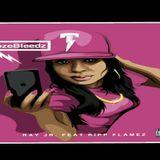 """TAYBABYNOLABEL - """"NozeBleedz"""" Cover Art"""