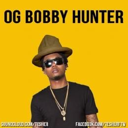 Tesher - OG Bobby Hunter [Pharrell x Que] Cover Art