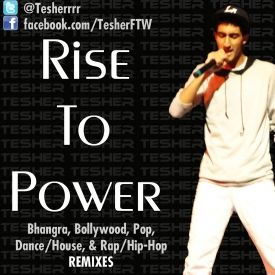 Tesher - Rise To Power Cover Art