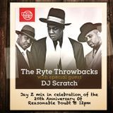 THATSENUFF - DJ Scratch - The Ryte Throwbacks - Reasonable Doubt 20th Anniversary Mix Cover Art