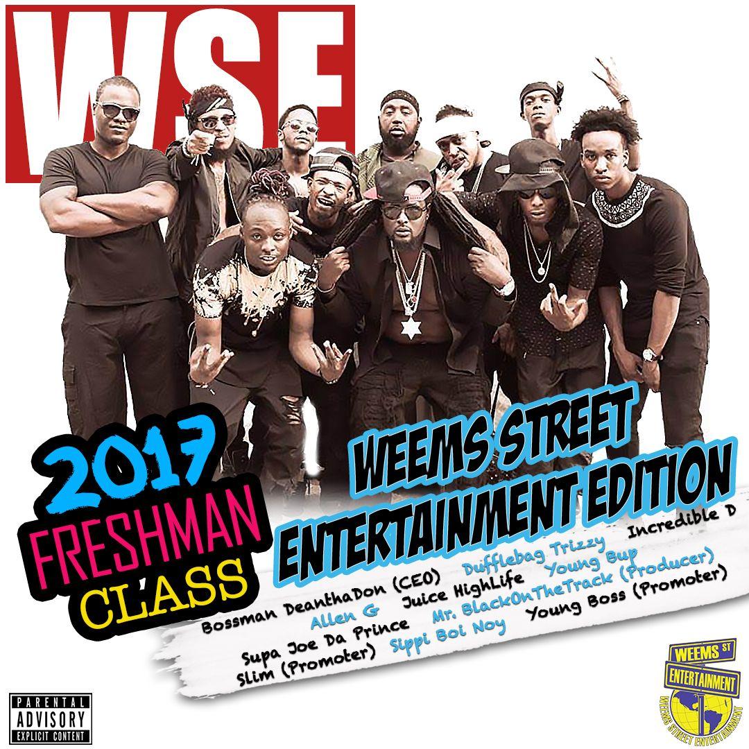 Various Artists - 2017 Freshman Class Weems Street Edition