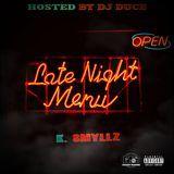 DJ Duce - Late Night Menu Cover Art