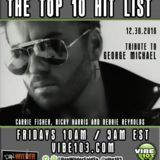 The Top 10 Hit List - The Top 10 Hit List (December 30, 2016 -- R.I.P. George Michael) Cover Art