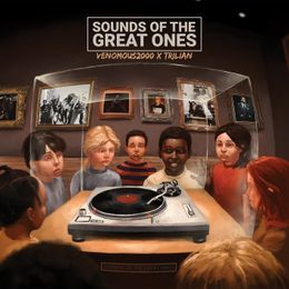 Trilian Serbia - Sounds Of The Great Ones Cover Art