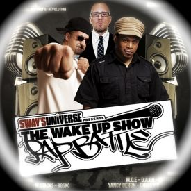 wake up show (one of the longest running hip hop radio shows) - wake up show / rap battle winners + tribute to saafir