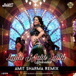 worldsdj - Laila Main Laila - Reloaded - Amit Sharma Remix Cover Art