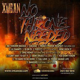 xmean407 - No Throne Needed Cover Art