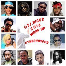 zj.biggs - 2016 DanceHall Wrap Up Cover Art