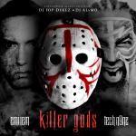 24KMixtapes - Eminem & Tech N9ne - Killer Gods (DJ Pop Dukez & DJ Alamo) Cover Art