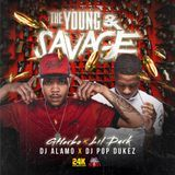 24KMixtapes - The Young & Savage Cover Art