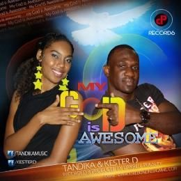 592JAMZ - My God Is Awesome Cover Art