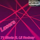 71 Shots - Lasers (Lil Irving Diss) Cover Art