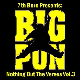 7thBoro.com - 7th Boro Presents: Big Punisher - Nothing But the Verses Cover Art