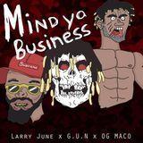 DJ Donka - Mind Ya Business 2 Cover Art