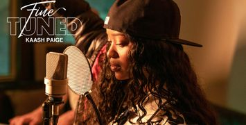 """Watch Kaash Paige Perform """"Love Songs"""" for Fine Tuned"""