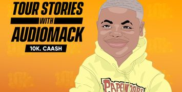 10k.Caash Brings a Flamethrower to Rolling Loud for 'Tour Stories'