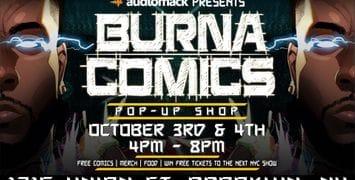 Audiomack & Burna Boy Announce Burna Comics NYC Pop-Up