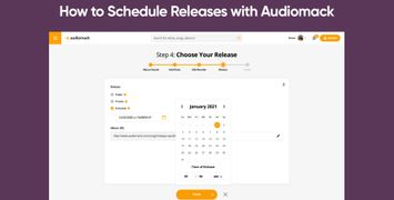 How to Schedule Releases with Audiomack