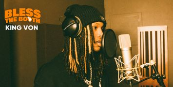 Watch King Von Spit an Exclusive Freestyle for 'Bless The Booth'