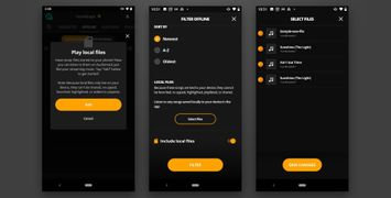 Listen Your Way With Audiomack's Local File Player