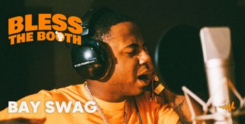 Watch Bay Swag Spit an Exclusive Freestyle for Audiomack's 'Bless The Booth' Video Series