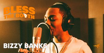 Watch Bizzy Banks Spit an Exclusive Freestyle for 'Bless The Booth'