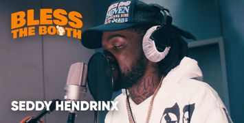 Watch Seddy Hendrinx Spit an Exclusive Freestyle for 'Bless The Booth'