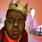 Above Average Hip-Hop - What If: Biggie Collabo Mash-Up Verses Cover Art