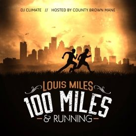 Addicted Dopeness - 100 Miles and Runnin Cover Art