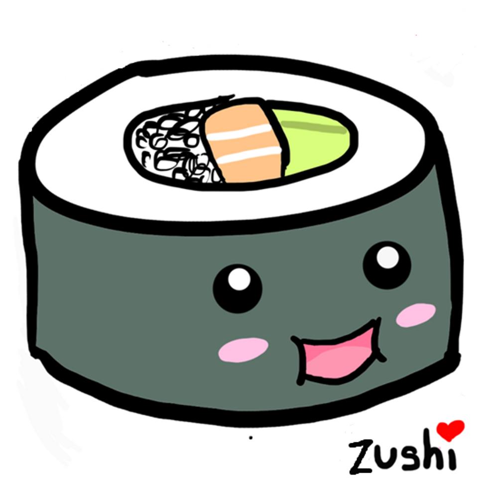 Красивые картинки суши для срисовки