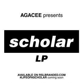 Agacee - SCHOLAR LP Cover Art
