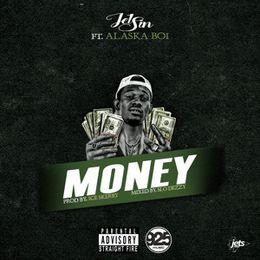 """ALaska Boi~TheRapper - """"Money"""" Cover Art"""