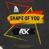 ALL DJS CLUB - Shape Of You (Remix) DJ ABK (The Mashup Styler) Cover Art