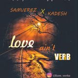 Alpanda samverbz - LOVE AINT VERB. Cover Art