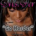 AMRHANKYBEAT - MS. FER - GO HARDER (MAIN) @msfer03 Cover Art