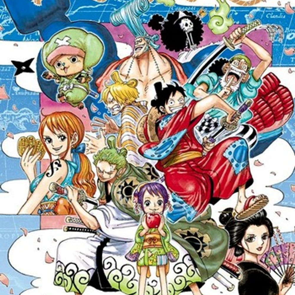 OVER THE TOP - One Piece OP 22 Full by Hiroshi Kidatani ...