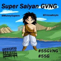 Muney Supers #55G - Saiyan Saga Vol 1 Cover Art