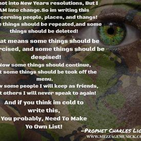 Make Yo Own List