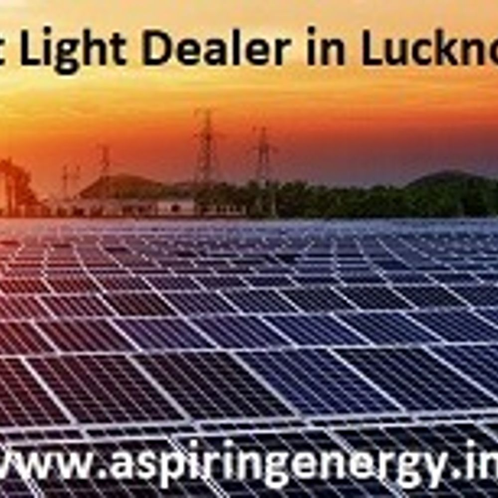 Best Aspiring Energy Company Solar Power System Noida by Shyam, from