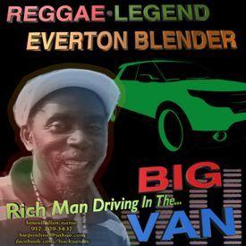 Rich Man Driving In The Big Van