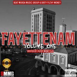 Beat Murda Music Group - Fayettenam Vol. 1 Cover Art