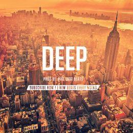 "BeatStars - Dark Beat I Trap Beat I Drake Type Beat - ""DEEP"" Cover Art"