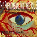 Black Flower Production - The Phenomenal Mixtape Vol.3 Cover Art