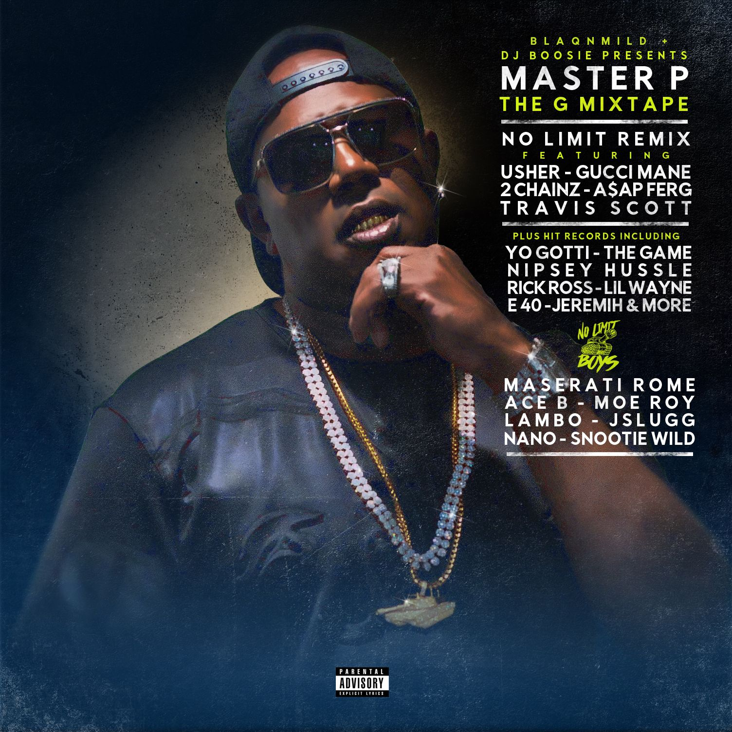 MASTER P - G MIXTAPE by MASTER P, from blizo: Listen for Free